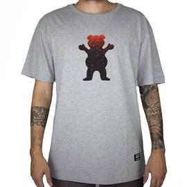 Camiseta Grizzly Og Bear Fadeway Grey GMA2001P16