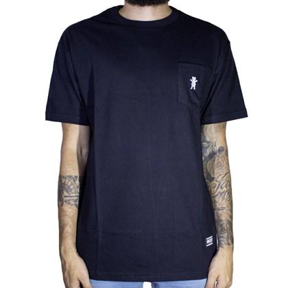 Camiseta Grizzly Og Bear Pocket Gma1903p02 Black