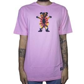 Camiseta Grizzly Og Bear Tie Dye Qsv19grc01 Pink