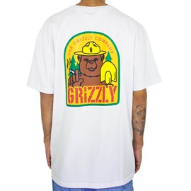 Camiseta Grizzly Prevention White GMD2001P30