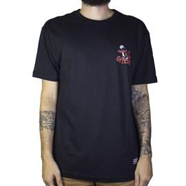 Camiseta Grizzly Skullshrooms SMA1901P06 Black