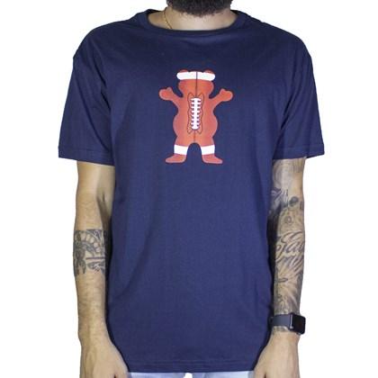 Camiseta Grizzly Sport Bear Football G19br012 Azul