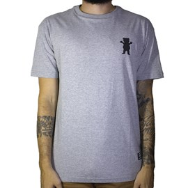 Camiseta Grizzly Stampback GMD1901P03 Grey