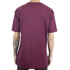 Camiseta Grizzly Stamped Gma1901p14 Burgundy