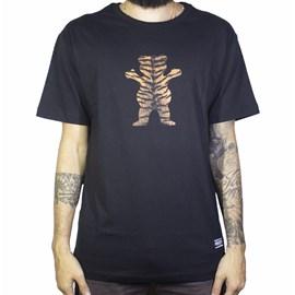 Camiseta Grizzly Tiger Stripe Preta