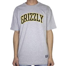 Camiseta Grizzly University Cinza Gma1901p11