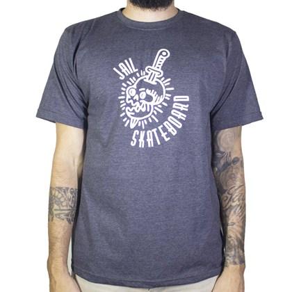 Camiseta Jail Cranio Chumbo