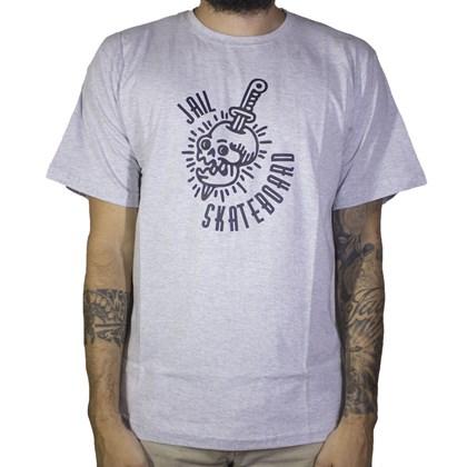 Camiseta Jail Cranio Cinza
