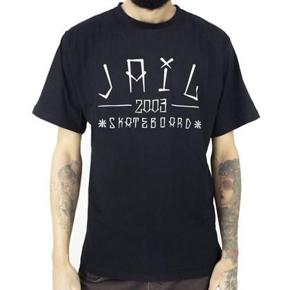 Camiseta Jail Skateboard 2003 Preto