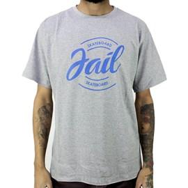 Camiseta Jail Skateboard Classic Cinza