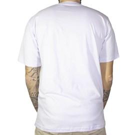 Camiseta Jail Skull Punk Branco