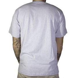 Camiseta Jail Skull Punk Cinza