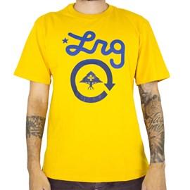 Camiseta Lrg Cycle Logo Amarelo