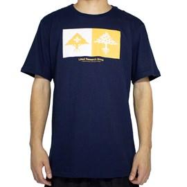 Camiseta Lrg Double Azul Marinho