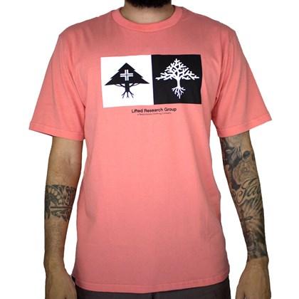 Camiseta Lrg Double Pink