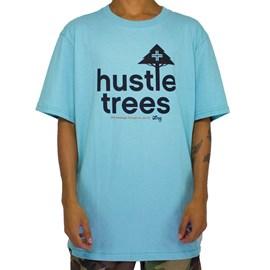 Camiseta Lrg Hustle Azul Claro