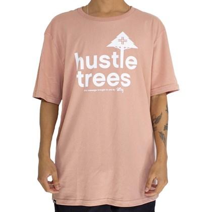 Camiseta Lrg Hustles Salmão
