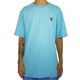 Camiseta Lrg Logo Plus Azul Claro