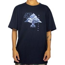 Camiseta Lrg Mountain Preto