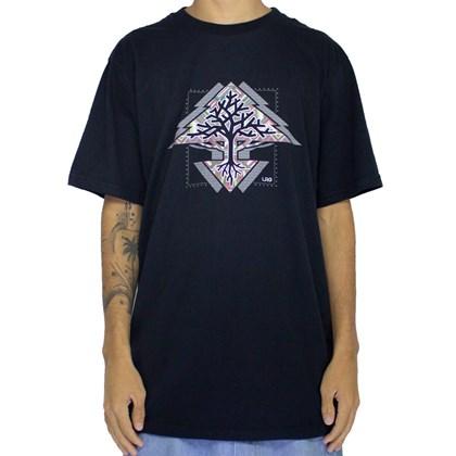 Camiseta Lrg Roots Tree Black