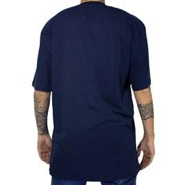 Camiseta Lrg Stacked Azul