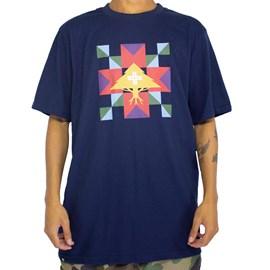 Camiseta Lrg Tree Rituals Azul