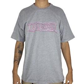 Camiseta Narina 3D Cinza
