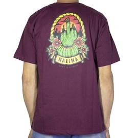 Camiseta Narina Cacto Bordo