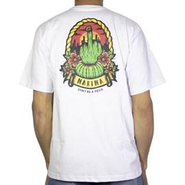 Camiseta Narina Cacto Branca