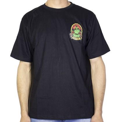 Camiseta Narina Cacto Preta
