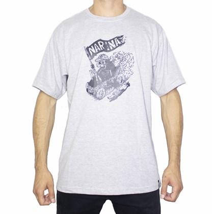 Camiseta Narina Caixão Cinza