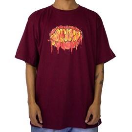 Camiseta Narina Cerebro Bordo