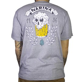 Camiseta Narina Chopp Cinza