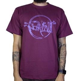 Camiseta Narina Circulo Bordo