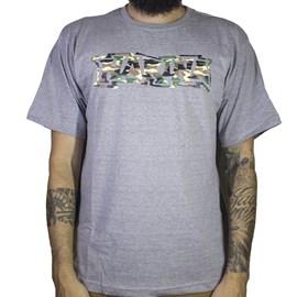 Camiseta Narina Classic Camo Cinza