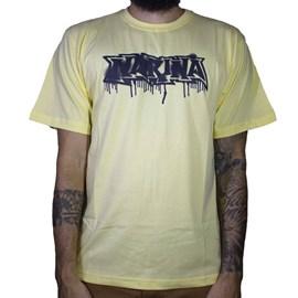 Camiseta Narina Classic Escorrido Amarelo
