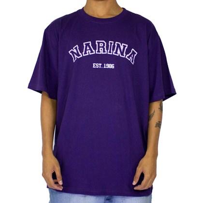 Camiseta Narina College Roxa