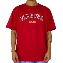 Camiseta Narina College Vermelho