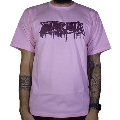 Camiseta Narina Escorrido Rosa