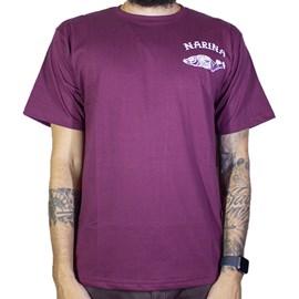 Camiseta Narina Fish Bordo