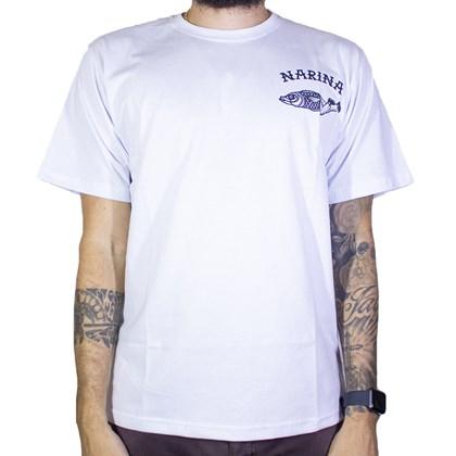 Camiseta Narina Fish Branco