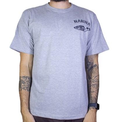 Camiseta Narina Fish Cinza