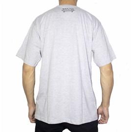 Camiseta Narina Fumaça Cinza