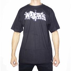 Camiseta Narina Fumaça Preta
