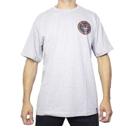 Camiseta Narina Gato Cinza