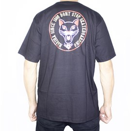 Camiseta Narina Gato Preta