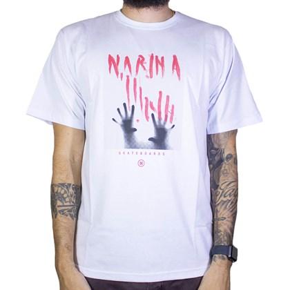 Camiseta Narina Glass Branco