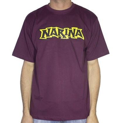 Camiseta Narina Logo Classico Bordo