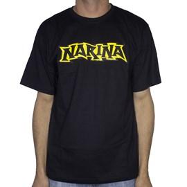 Camiseta Narina Logo Classico Preta