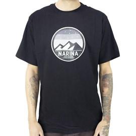 Camiseta Narina Mountain Preto